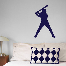 Baseball Batter Wall Décor