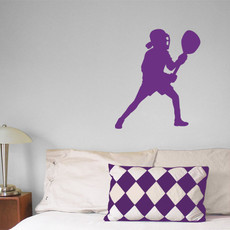 Lacrosse Goalie Female Wall Décor