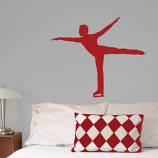 Figure Skater Male Wall Décor