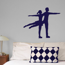 Figure Skater Pairs Wall Décor