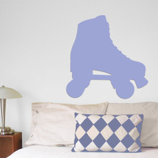 Roller Skate Wall Décor in light blue