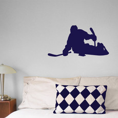 Ice Hockey Sled Wall Décor