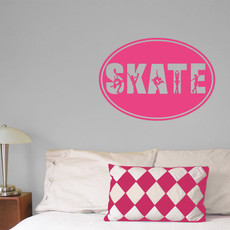 Figure Skate Word Wall Décor