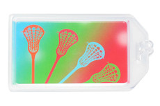 Lacrosse Women's Plastic Luggage Tag
