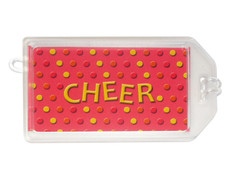 Cheer Plastic Luggage Tag