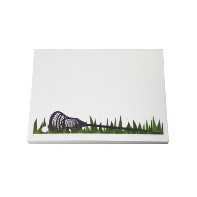 Lacrosse Grass Sticky Notes