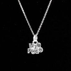 H20 Polo Sterling Silver Charm