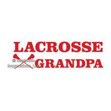 Lacrosse Grandpa Window Decal