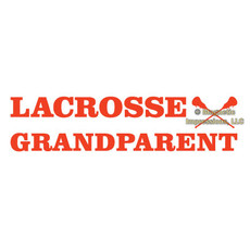 Lacrosse Grandparent Window Decal