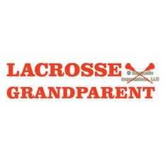 Lacrosse Grandparent Window Decal
