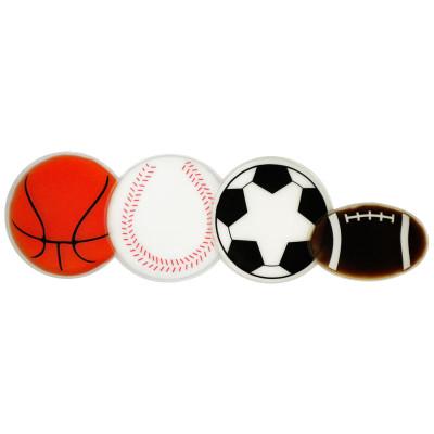 Basketball, Baseball, Soccer ball and Football Chill Packs