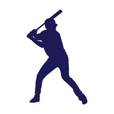 Baseball Batter Car Window Decal