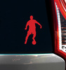 Soccer Male Window Decal