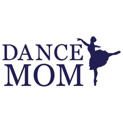Dance Mom Window Decal