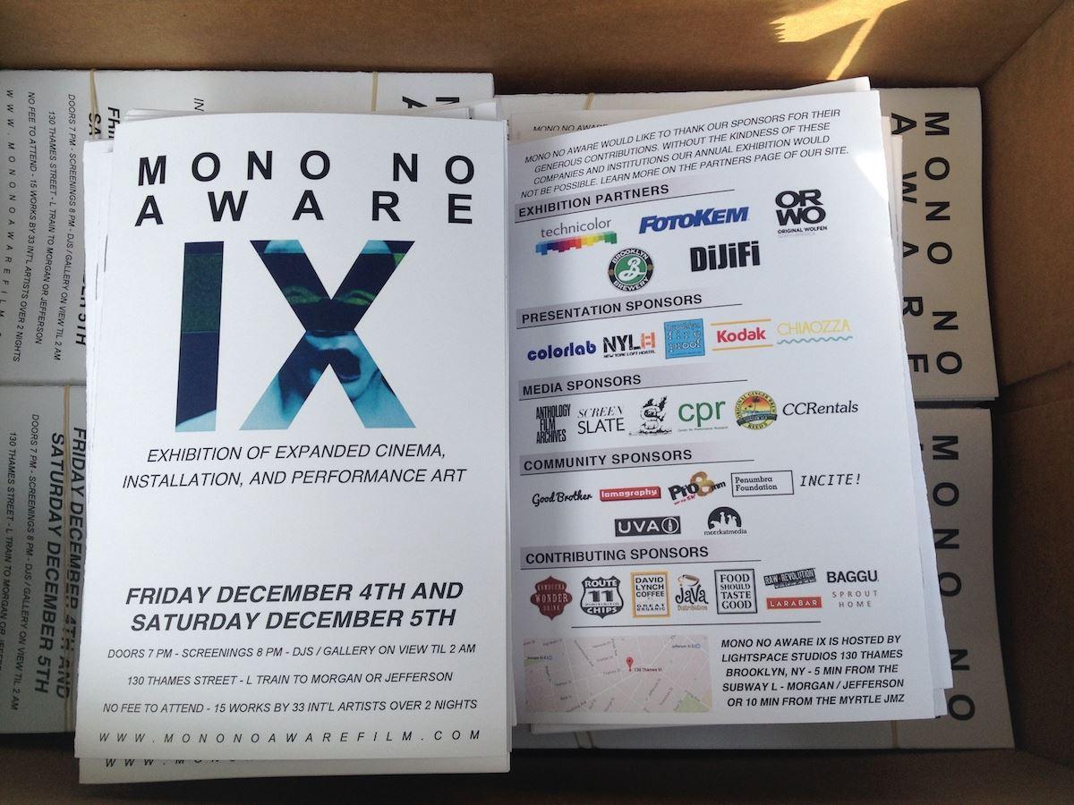 Mono Flyer