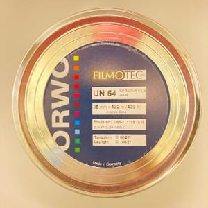 ORWO UN54 (100 ASA) 35mm, Reversal or Negative B&W Flm, 400ft, on Core