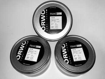 ORWO N75 (400 ASA), 35mm, Negative B&W Film, on 100ft Core,