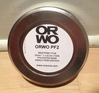 ORWO PF2 B&W Print Film, 35mm, 100ft