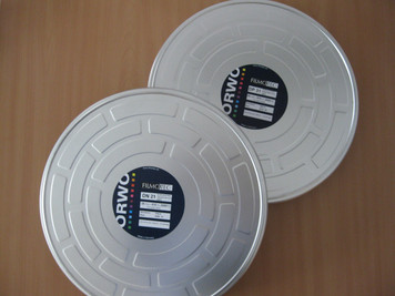 ORWO DP31, 16 mm, K-Code, Duplicating Positive B&W Film, 2000ft Core