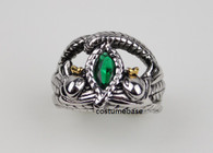 Stainless Steel BARAHIR RING The Lord of the Rings LOTR Aragorn