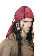 Exact Pirate WIG w/ BANDANA hair dreadlock