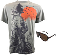 Hangover Alan Human Tree Shirt and Sunglasses set