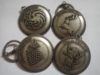 GOT set 4 keychain