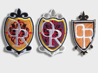 OURAN HIGH School PATCH of 3