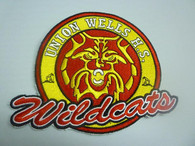 UNION WELLS High PATCH Wildcats