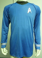 Spock Science Blue Shirt