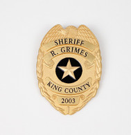 GRIMES BADGE GOLD