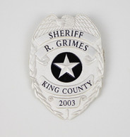 GRIMES BADGE SILVER