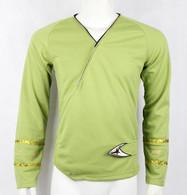 Star Trek TOS Classic Wrap Green Shirt