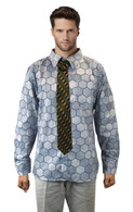 Clown Prince of Crime Hexagon Shirt + Tie