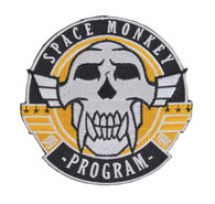 SPACE MONKEY PATCH iron-on