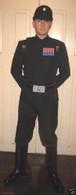 Imperial Officer Black costume Set