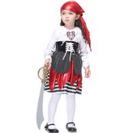 Girls Princess Of The Seas Pirate Fancy Dress Halloween