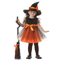 Girls Pirate Fairy Halloween Costume Outfits Party Fancy Dress