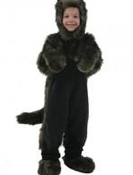 Child Black Dog Costume