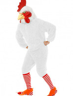WHITE ROOSTER COSTUME