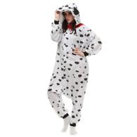 Unisex Adult Pajamas Kigurumi Cosplay Costume Animal Dalmatian