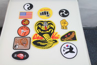 Full Cobra Kai Gi Patches Set of 12
