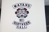MAYANS MC Patches