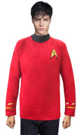 Star Trek Scotty Medicine CLASSIC Red Shirt Costume uniform TOS