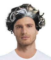SWEENEY TODD Adult Hair WIG Demon Barber Of Fleet Street Costume movie props