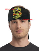 Cobra Kai HEADBAND karate kid scarf