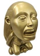 INDIANA JONES FERTILITY IDOL Golden Raiders of Lost Ark Replica Resin Coin Piggy Bank