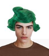 OOMPA LOOMPA GREEN WIG Willy Wonka Chocolate Costume