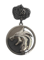 The Witcher Geralt Necklace Cosplay Costume Henry Props Cavill TV Series