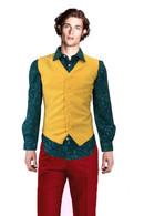 JOKER 2019 Shirt And Vest Halloween Costume Fancy Bubble Cosmos Joaquin Phoenix
